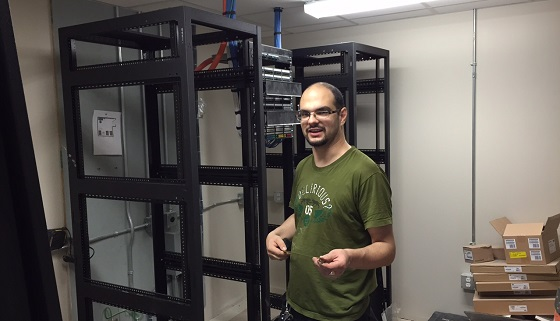 server rooms - IT Solutions Calgary network cabling install